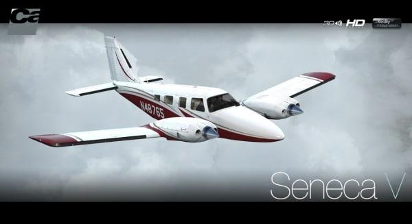 CARENADO - PA34 Seneca V HD series