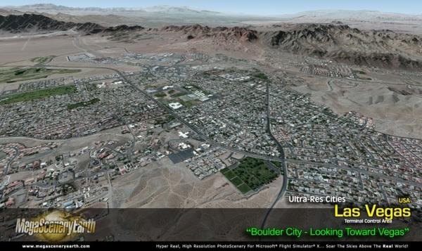 PC AVIATOR - Megascenery Earth - Ultra-Res Cities - Las Vegas
