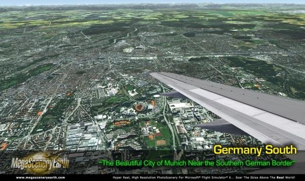PC AVIATOR - Megascenery Earth - Germania meridionale