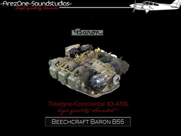 AREZONE - Beechcraft Baron 55