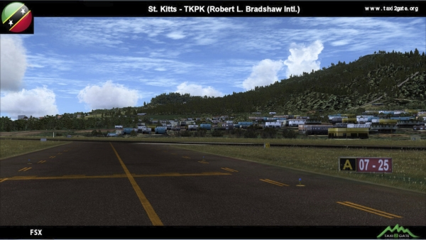 TAXI2GATE - St. Kitts-Nevis Bradshaw International Airport