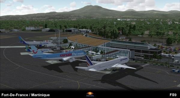 TROPICALSIM - Martinique Aimé Césaire International Airport