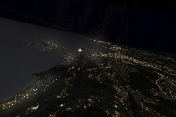 TABURET - Fsx night 3D Francia