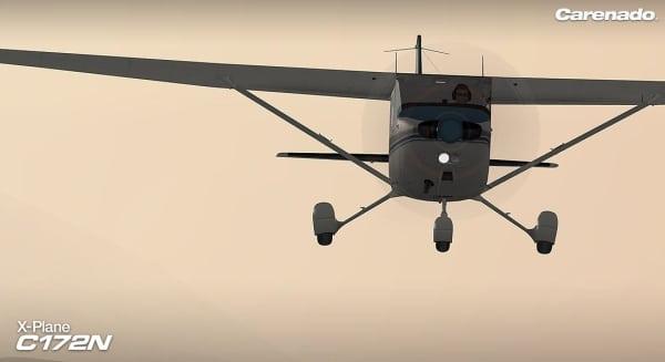 CARENADO - C172N Skyhawk X-Plane v3