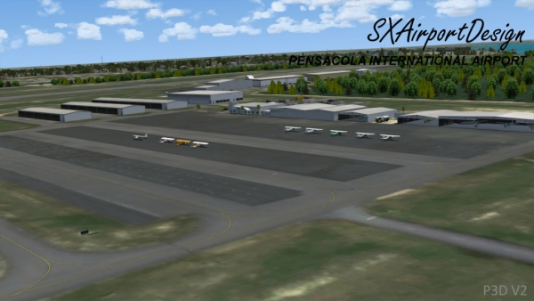 SXAIRPORTDESIGN - Pensacola internationa