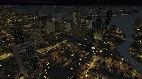 TABURET - Fsx night 3D Florida, Georgia, Alabama e Mississippi