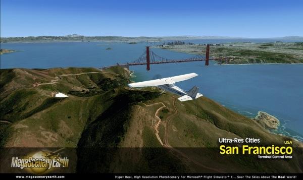 PC AVIATOR - Megascenery Earth - Ultra-Res Cities - San Francisco