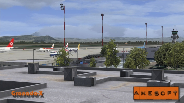 AKESOFT - Granada airport
