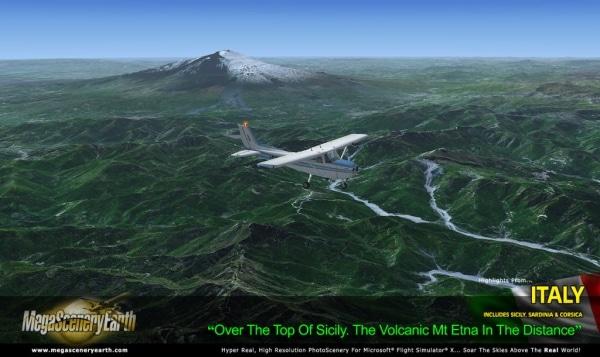 PC AVIATOR - Megascenery Earth - Italia 2.0