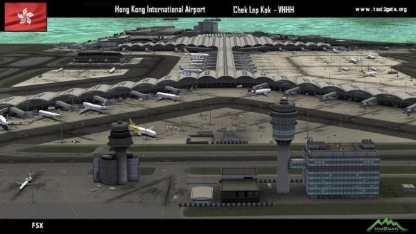 TAXI2GATE - Hong Kong International Airport