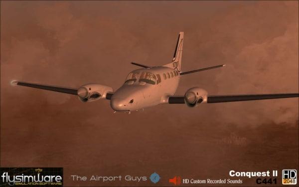 FLYSIMWARE - Cessna 441 Conquest II