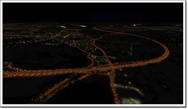 AEROSOFT - Night Environment - Spagna