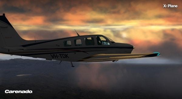CARENADO - A36 Bonanza Xplane V3