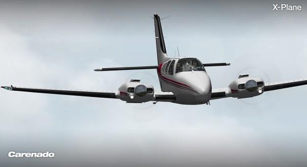 CARENADO - B58 Baron Xplane V3