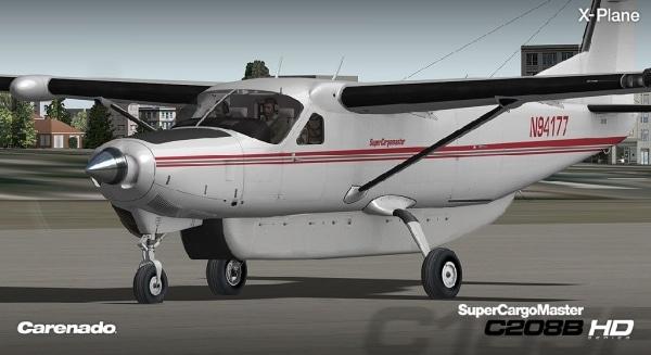 CARENADO - Cessna 208B Gran caravan super cargomaster expansion pack Xplane V3