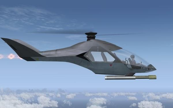 AFS-DESIGN - Concept gyrocopter