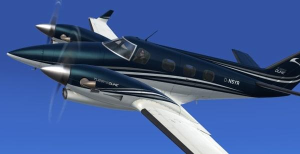 REALAIR - Beechcraft Duke V2