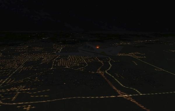 TABURET - Fsx night 3D North Dakota South Dakota Nebraska