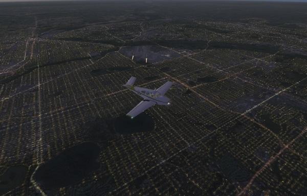 TABURET - Fsx night 3D Minnesota Iowa e Wisconsin