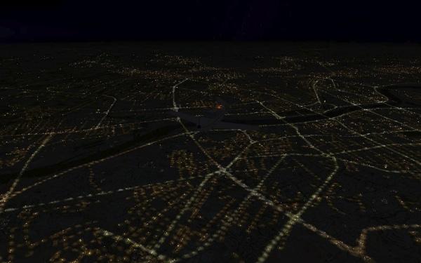 TABURET - Fsx night 3D Polonia