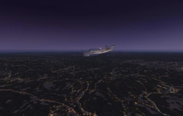 TABURET - Fsx night 3D Giappone