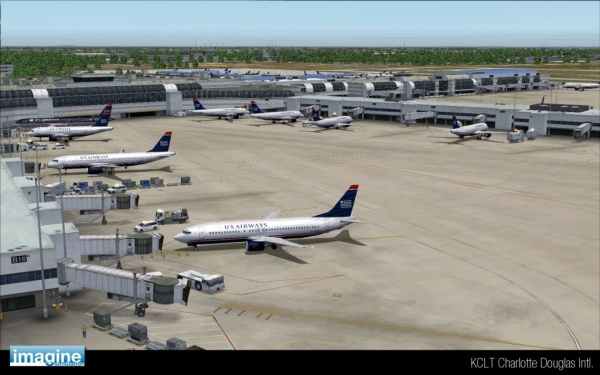 IMAGINE SIM - Charlotte Aiport KCLT P3D