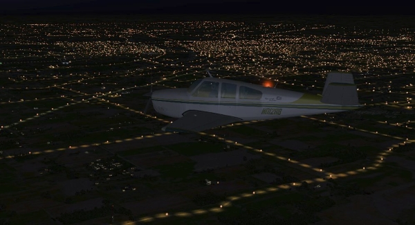 TABURET - Fsx night 3D Indiana Ohaio Kentuchy