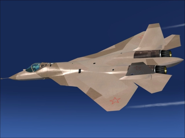 FLYFREESTD - Sukhoi T-50 & Pak-Fa Futura