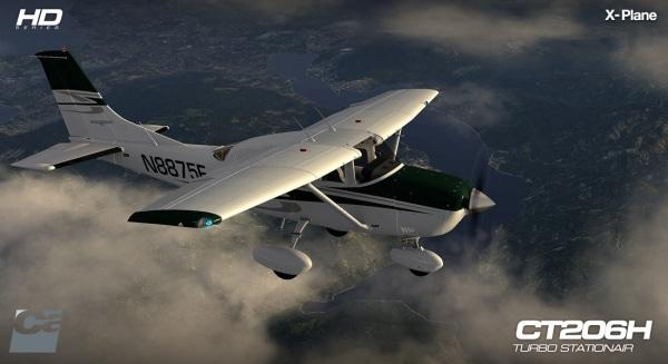 CARENADO -  CT206H Stationair Xplane V3