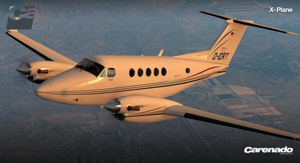 CARENADO - B200 King Air Xplane V3