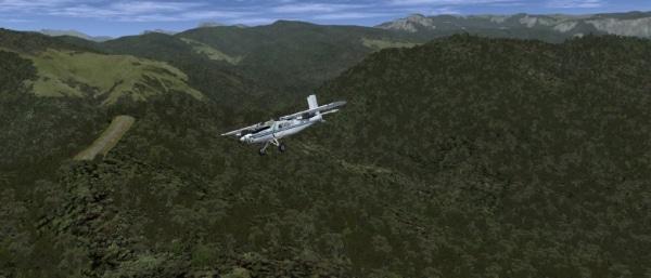 ROLLING CUMULUS SOFTWARE - Bush flying series - episode 2
