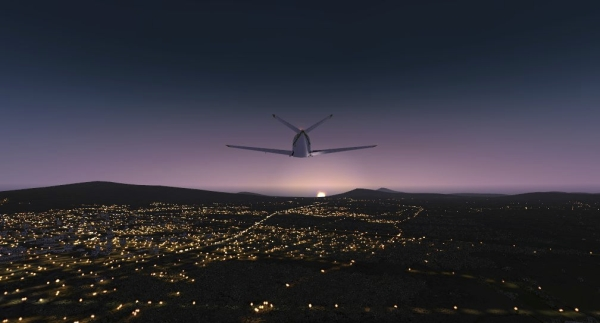 TABURET - Fsx night 3D Indonesia