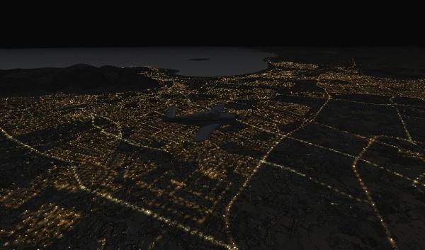 TABURET - Fsx night 3D Sud Africa e Lesotho