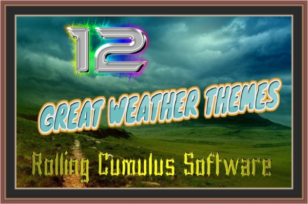 ROLLING CUMULUS SOFTWARE - 12 Deluxe Weather Themes