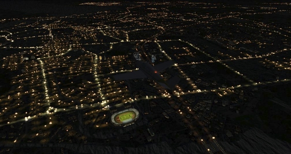 TABURET - Fsx night 3D Paesi Bassi, Belgio e Lussemburgo