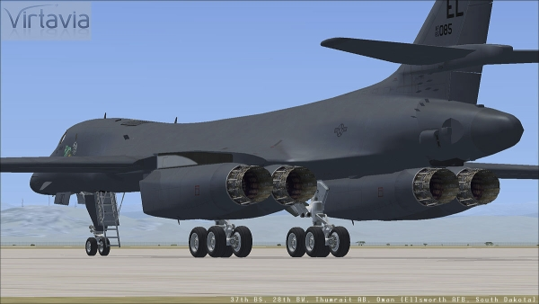 VIRTAVIA -  Rockwell B-1B Lancer Steam Edition