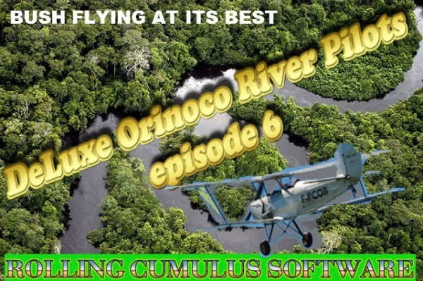 ROLLING CUMULUS SOFTWARE - Deluxe bush flying series - episode 6