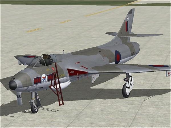 VIRTAVIA - Hawker Hunter