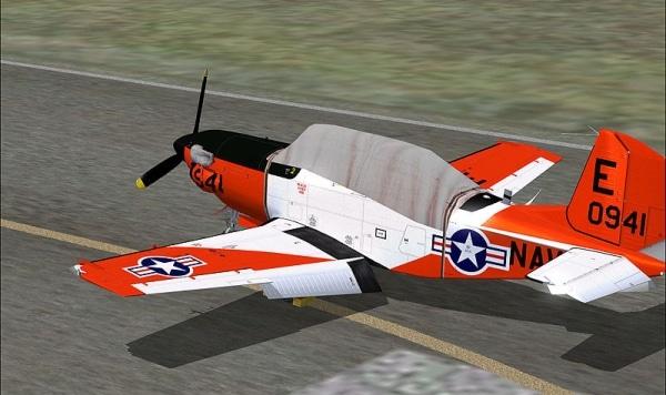 VIRTAVIA - Beechcraft T-34 Turbo Mentor