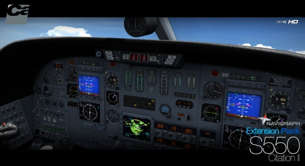 CARENADO - Navigraph S550 Citation Extension Pack