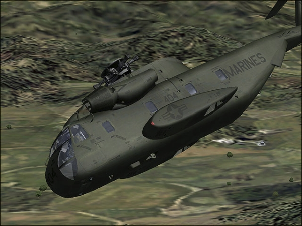 VIRTAVIA - CH-53A Sea Stallion