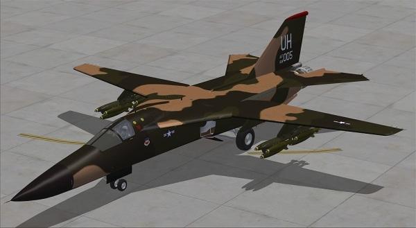 VIRTAVIA - F-111 Aardvark