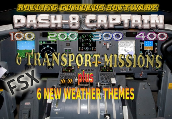 ROLLING CUMULUS SOFTWARE - Dash 8 Captain In Command