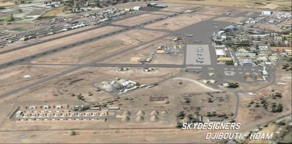 SKYDESIGNERS - Base aérienne 188 de Djibouti-Ambouli - Colonel Émile Massart