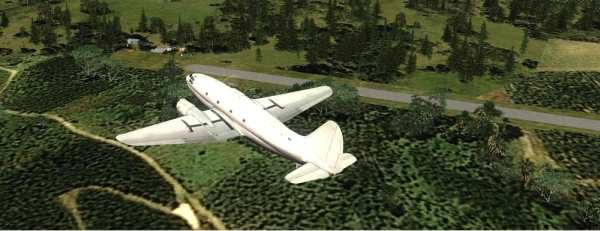 ROLLING CUMULUS SOFTWARE - Deluxe bush flying series - episode 10