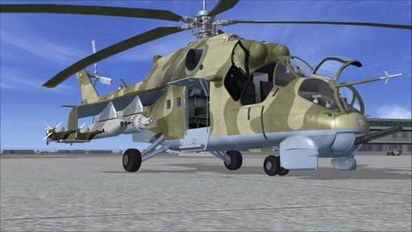 VIRTAVIA - Mil Mi-24 Hind