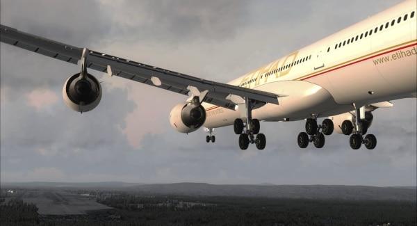 BLACKBOX SIMULATION - A340 X-treme Prologue