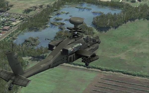 VIRTAVIA - AH-64D Apache Longbow