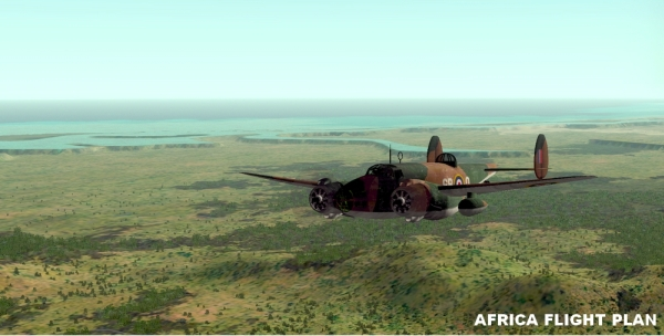 ROLLING CUMULUS SOFTWARE - Air Corps Ferry Command ww2 Episode 2: Over the Southern Atlantic of Africa