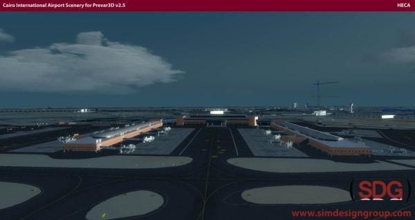 SDG - HECA Cairo International Airport